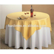High quality textiles polyester table cloth mini matt fabric