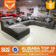 китайский стиль современный гостиная мебель лучшая ткань диван для продажи