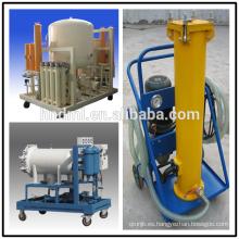 Carro eficiente del filtro de aceite del vacío, purificador de aceite eficiente del vacío, máquina del purificador de aceite