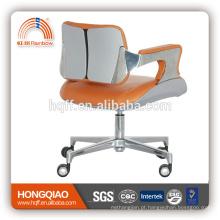 Cadeira traseira do escritório do ABS do elevador do giro do couro curto de CM-B183CS / PU