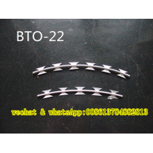 Anti Klettern Rasiermesser Stacheldraht Bto 22