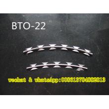 Anti Climb Razor Barbed Wire Bto 22