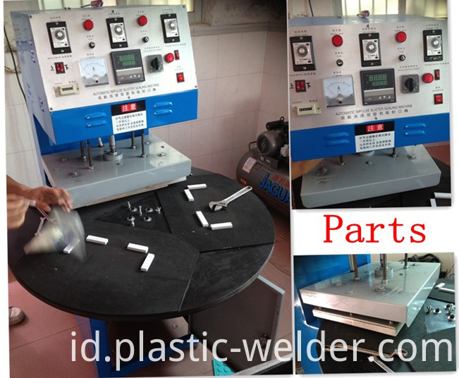 Blister packing, sealing machine