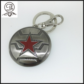Marvel Animation winter soldier shield keychains