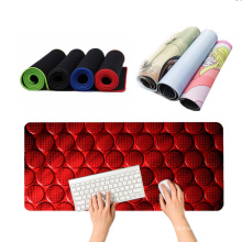 Custom Printing Large Size Natural Rubber Locking Edge Gaming Mousepad