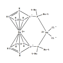 1,1'-Bis (di-t-butylphosphino)ferrocene palladium dichloride CAS 95408-45-0