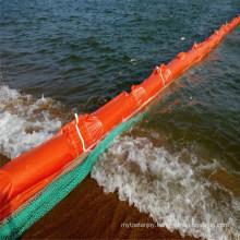 Solid Floatation PVC Boom, Rubber Oil Containment Boom