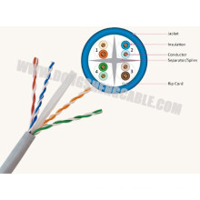 24 Years Factory Price Cat5e/CAT6/CAT6A UTP Cable