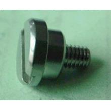 Tornillo de ajuste de acero inoxidable con ranura, rodamiento