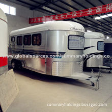 3 Horse Angle Load Trailer with Living Area