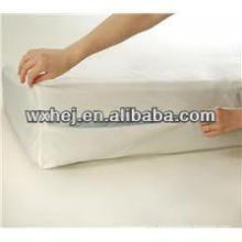 bedbug dust mite waterproof polyester knitting encasement for twin mattress
