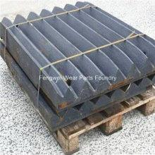 Backenplatten Verschleißteile für Metso C100 C110 C125