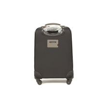 PC Black Travel Trolley Suitcase Luggage Bag