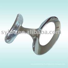 Poignée ronde en acier inoxydable