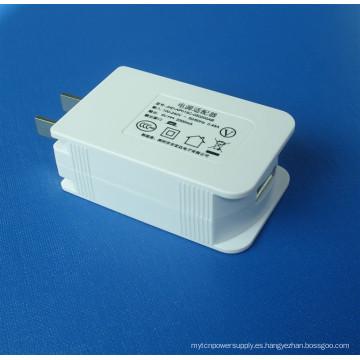 Cargador USB con salida personalizada