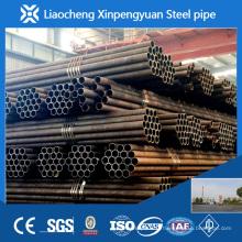 ASTM A106 tuyau en acier sans carbone carbone de catégorie B, tuyau en acier ms
