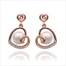 VAGULA Gold Plated nouvelle arrivée mode Stud boucles d'oreilles perles