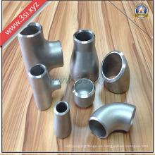 Accesorios de tubería de acero inoxidable forjado ANSI B16.9 (YZF-PZ115)