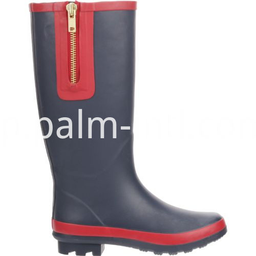 Ladies' Waterproof Rubber Wellington