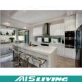 Muebles modulares de los muebles de cocina de la nueva cocina del PVC 2016 (AIS-K984)