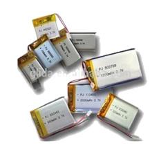 Bateria recarregável de polímero de lítio 3,7v 200mAh
