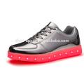 zapatos de las zapatillas de deporte de las luces LED de los nuevos hombres zapato del deporte del LED
