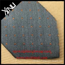 Cravate de cou de soie tissée par jacquard de noeud parfait 100% fait à la main seulement