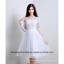 V-Neck Bridesmaid Dresses Mulheres Prom Dress Style Vestidos da dama de honra