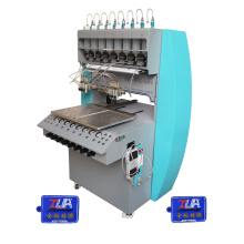 silicone glove label maker logo dripping machine