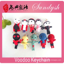 Promotion Gift Hight Quality String Voodoo Doll Keychain