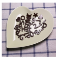 Food Grade Silicone Letter Number Mold
