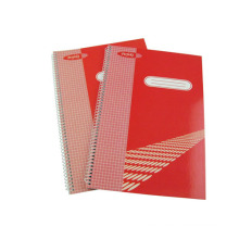 Size 295*200mm Printed Cover Spiral Notebook Hardcover Note Pad School Office Supplies