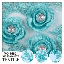 Свадебная использовать повторяющийся каменных кружев, ручная вышивка конструкций для платья