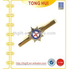 Logotipo de esmalte personalizado Metal Tie clips Fabricante