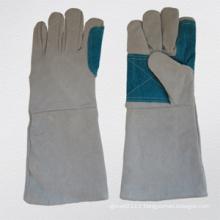 Cow Split Leather Welding Work Glove-6541