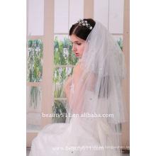 Astergarden Foto real Mantilla estilo nupcial vela de boda ASJ005