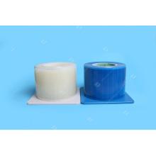 Одноразовая пластиковая синяя барьерная пленка