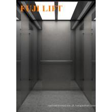 Elevador de Passageiros de Edifício Comercial com Aço Inoxidável