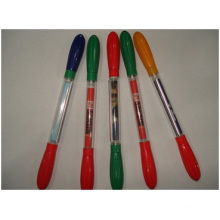 Promotional Plastic Pen for Advertising, Double Color Ballpoint Pens