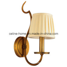 Antique Wall Lighting with Fabric Shade for House Decorative (SL2016-1W)