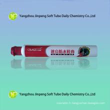 En aluminium & emballage plastique Tube de cirage imperméable à l'eau