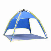 Portable Polyester Beach Tents, Suitable for Fishing, Customized Designs and Sizes are Welcome