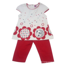 Sommer Kinder Baby Mädchen Anzug in Kinderkleidung (SQ-001)