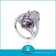 Fashion Silver CZ Personality Ring (SH-R0351)