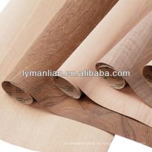 Hojas de chapa de madera de nogal