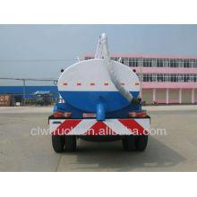 Dongfeng 8cbm camiones de succión, 4x2 camión de succión fecal