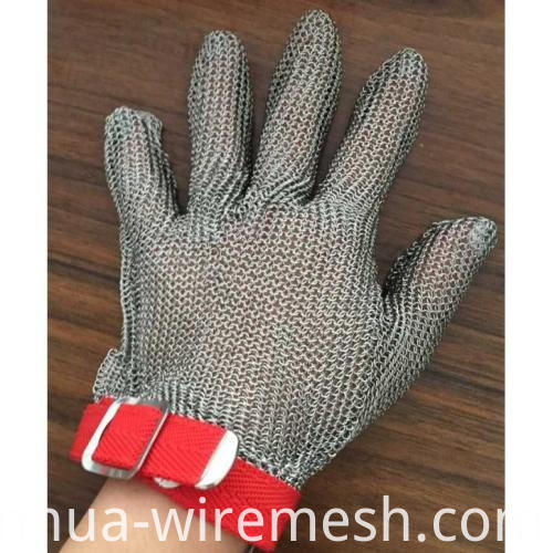 stainless steel butcher hand safe glove (1)