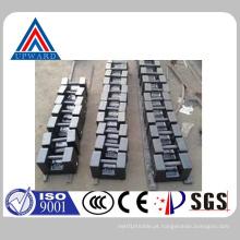 China Upward Marca personalizada Casting Iron Calibração Testes Pesos Contrapeso Fabricante