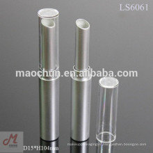 Long round slim lipstick container