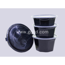 Disposable bowl clear plastic tableware for home hotel restaurant